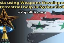 Používá Rusko vsyrské občanské válce zbraně vyvinuté s mimozemskou pomocí? Dohoda Ruska s jinou mimozemskou civilizací než v USA