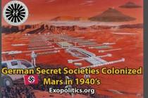 Německé tajné společnosti kolonizovaly Mars ve 40. letech