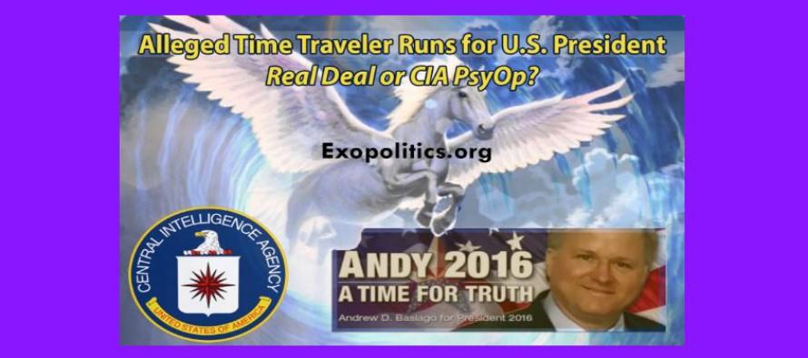 Údajný cestovatel včase kandiduje na prezidenta USA: doopravdy, nebo je to psychologická operace CIA?
