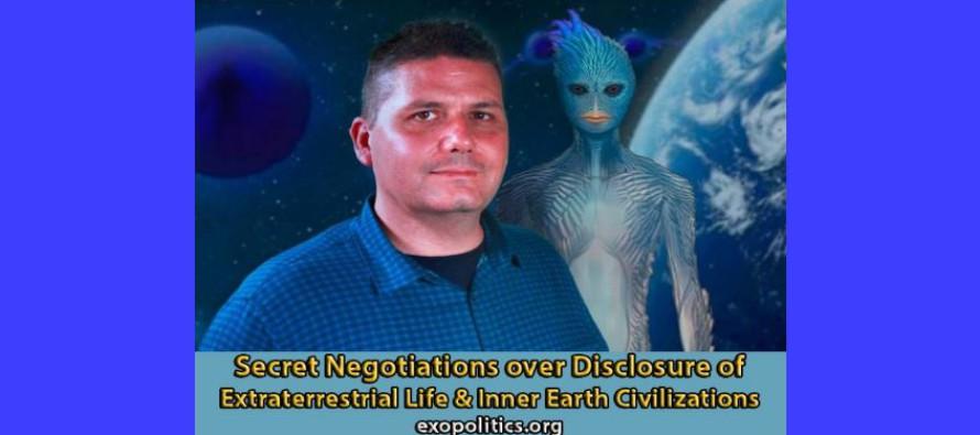 Tajná jednání ohledně odhalení mimozemského života a civilizací z vnitřku Země