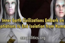 Vnitřní civilizace Země se vydávají jednat o ukončení své izolace od lidstva