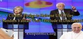 Clintonová se zavázala uvolnit spisy UFO a Sandersova návštěva Vatikánu – předehra pro odhalení?