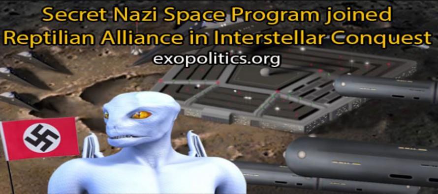 Tajný nacistický vesmírný program se spojil s Aliancí Reptiliánů za účelem mezihvězdného dobývání; část lidstva se bez vědomí ostatních účastní válek v kosmu; Hitler