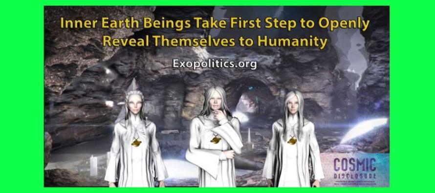 Bytosti z vnitřku země podnikají první krok k otevřenému odhalení se lidstvu – konec falešného channelingu?