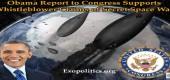 Obamova zpráva Kongresu podporuje informátorovo tvrzení o tajné vesmírné válce