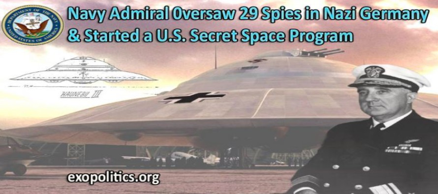 Admirál námořnictva dohlížel na 29 špiónů v nacistickém Německu a nastartoval tajný vesmírný program USA – informátor Tompkins stále důvěryhodnější