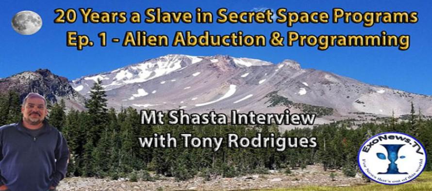 20 let otrokem v tajných vesmírných programech – únos mimozemšťany a programování – svědek Rodrigues