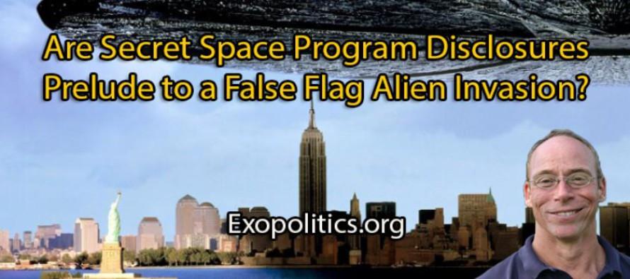 Jsou odhalení tajných vesmírných programů předehrou falešné mimozemské invaze?