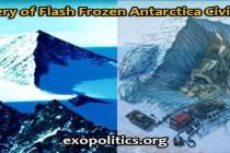 Objev bleskově zamrzlé civilizace na Antarktidě