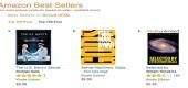 Nejprodávanější knihy o tajných vesmírných programech a UFO na Amazon