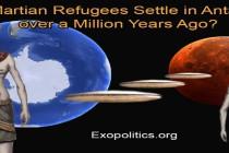 Usadili se uprchlíci z Marsu na Antarktidě před milionem let?