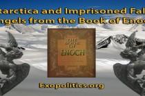 Antarktida a uvěznění padlí andělé z knihy Henochovy