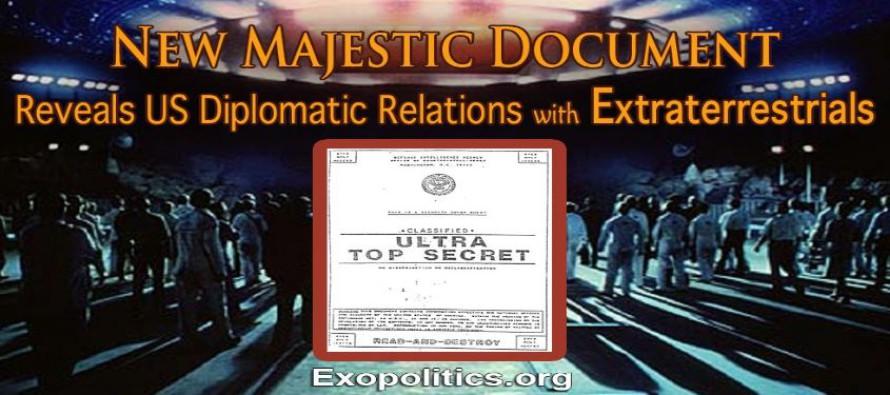Nový dokument Majestic odhaluje diplomatické vztahy USA s mimozemšťany