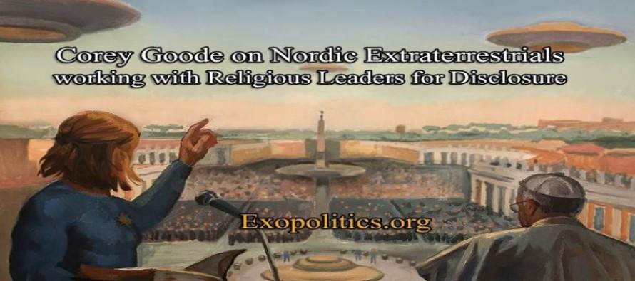 Corey Goode o nordických mimozemšťanech spolupracujících s náboženskými vůdci v zájmu odhalení