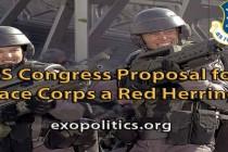 Je návrh Kongresu USA na zřízení vesmírných jednotek falešná stopa?