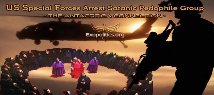 Zvláštní jednotky USA zatkly satanisticko-pedofilní skupinu – a vazba na Antarktidu