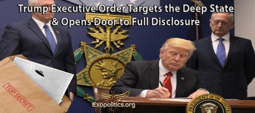"""Trumpův výkonný příkaz se zaměřuje na tajnou vládu """"Deep State"""" a otevírá dveře k úplnému odhalení"""