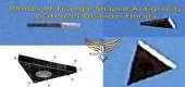Fotografie antigravitačního letounu ve tvaru trojúhelníku nad Orlandem na Floridě