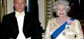Prezident Putin prohlašuje, že královna Alžběta není člověk