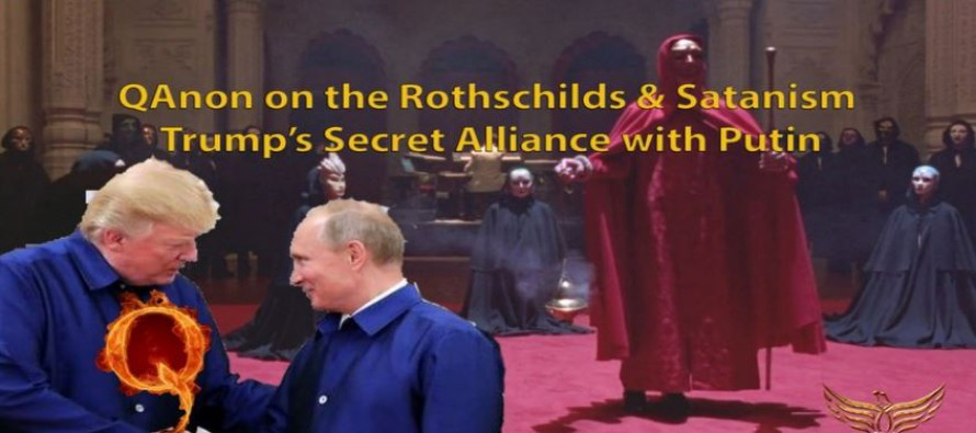 QAnon o Rothschildech a satanismu – Trumpova tajná aliance s Putinem