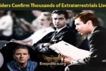 Armádní zasvěcenci Emery Smith a Corey Goode potvrzují: tisíce mimozemšťanů žijí mezi námi