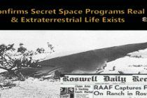 Informační zdroj QAnon potvrzuje skutečnost tajných vesmírných programů a existenci mimozemského života – částečná podpora pro Goodea a Smithe
