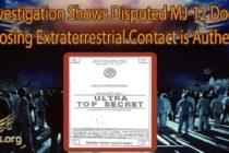 Nové vyšetřování podpořené MUFON Journal ukazuje: zpochybňovaný dokument MJ-12, odkrývající mimozemský kontakt, je pravý; – dr. Morrison nahradil dr. Sagana