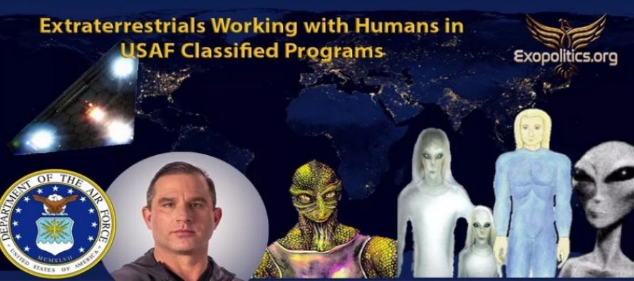 Mimozemšťané pracují s lidmi na tajných programech letectva USA