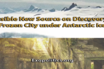 Objevil se nový zdroj informací ohledně odhalení zamrzlého města pod antarktickým ledem – Pete a jeho prameny