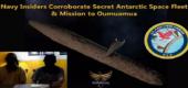 Spartan 1 a Spartan 2 – zasvěcenci námořnictva USA – potvrzují tajnou antarktickou vesmírnou flotilu a misi na Oumuamua