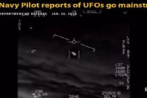 Piloti námořnictva USA informují veřejně o UFO – dostává se to do hlavního proudu médií