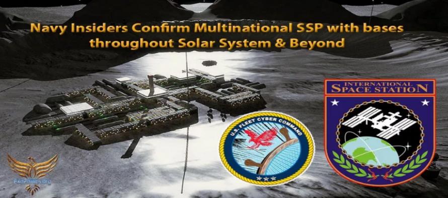 Zasvěcenci námořnictva USA potvrzují tajný vesmírný program mnoha národů se základnami po celé Sluneční soustavě i mimo ni