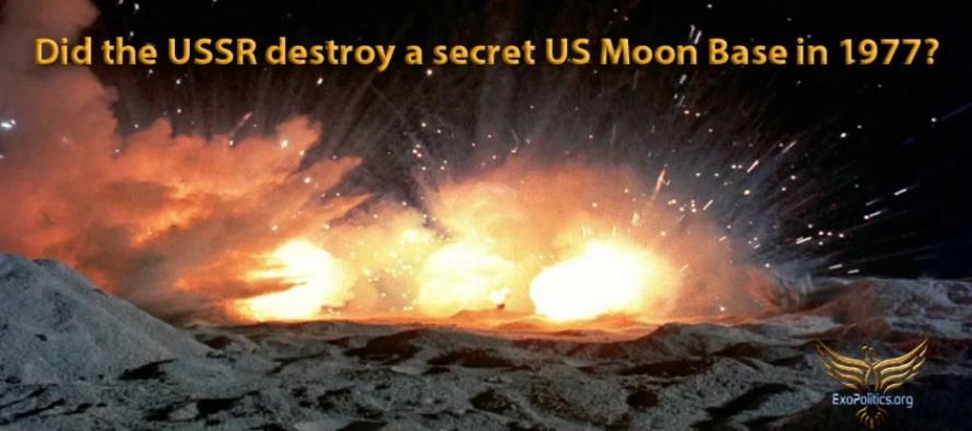 Zničil SSSR tajnou základnu USA na Měsíci v roce 1977?
