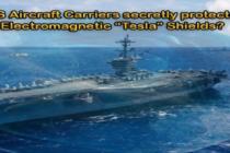 """ELEKTROMAGNETICKÉ ŠTÍTY """"TESLA"""" – jsou jimi tajně chráněny letadlové lodě USA proti hypersonickým střelám Ruska a Číny?"""