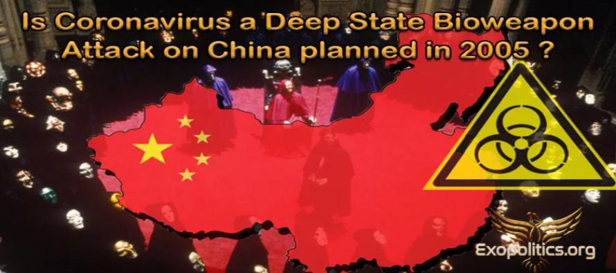 Je koronavirus biologickou zbraní Deep State? Útok na Čínu naplánován již v roce 2005? Britský informátor Projektu Camelot