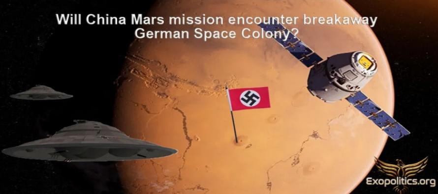 SETKÁ SE ČÍNSKÁ MISE NA MARS S ODTRŽENOU NĚMECKOU KOLONIÍ?
