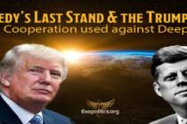 Kennedyho poslední vzepětí a Trumpova karta: Deep State si nepřeje vesmírnou spolupráci národů mimo jeho kontrolu