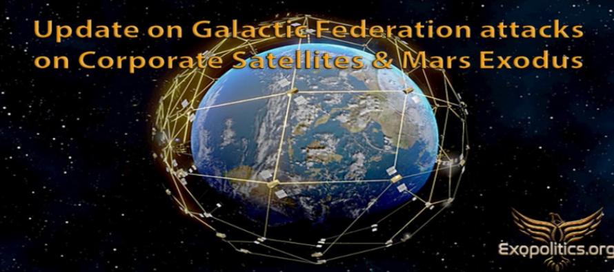 Aktuální zprávy o útocích na soukromé satelitní systémy & exodus na Mars – kontaktérka Elena Danaan